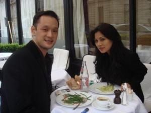 Adinda Bakrie dan See Hoo Ong