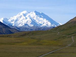 Gunung McKinley di Alaska
